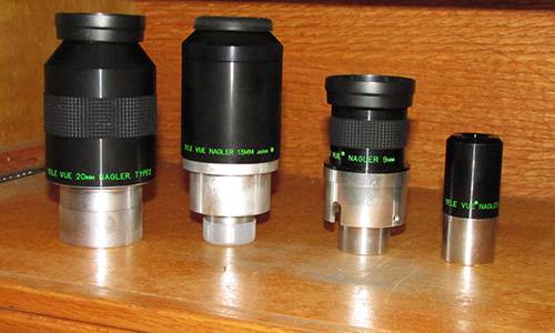 Rabbit Valley Observatory's Nagler eyepieces