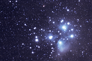 Pleiades after post-processing