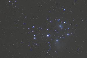 Pleiades before post-processing
